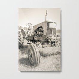 Vintage Tractor Durham NH Metal Print