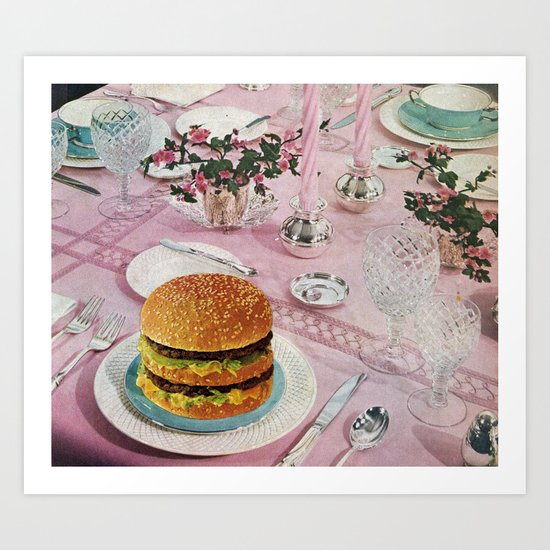 BURGER by bethhoeckelcollage