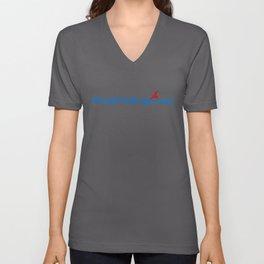 Retail Salesperson Ninja in Action Unisex V-Neck