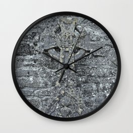 Concealed Cross Wall Clock