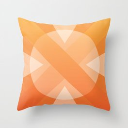 Sun Design Throw Pillow
