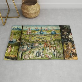 Hieronymus Bosch The Garden Of Earthly Delights Rug