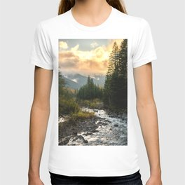 The Sandy River I - nature photography T-shirt