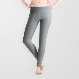 Ultra Pale Grey Solid Color Parable to Jolie Paints French Grey Leggings