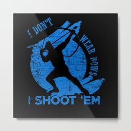Archery Bow Metal Print
