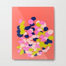 Floating Petals Metal Print