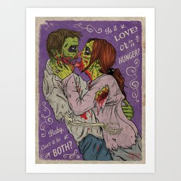 Love or Hnger Art Print
