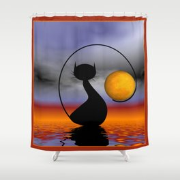 framed pictures -23- Shower Curtain