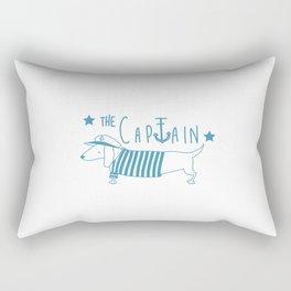The Captain- seawolf Rectangular Pillow