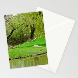Generous Green Stationery Cards