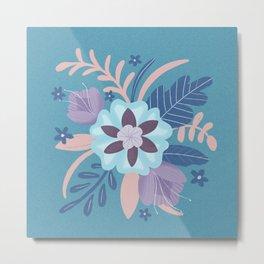 Floral Bouquet Metal Print