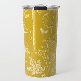 Woodland Walk / Mustard Travel Mug