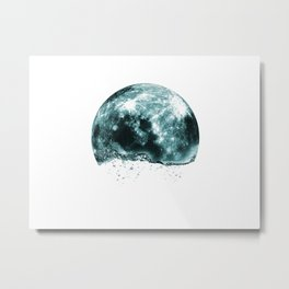 lunar water Metal Print