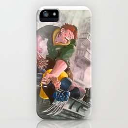 QUASY VS WOLY iPhone Case