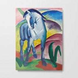 Franz Marc - Blue Horse I Metal Print