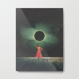 Total Eclipse of You Metal Print