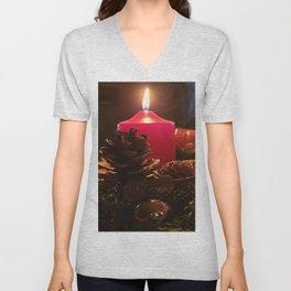 Christmas light Unisex V-Neck