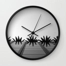 Arecaceae Wall Clock