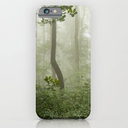 Great Smoky Mountains National Park - Forest Fog Adventure VI iPhone Case
