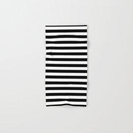Stripe Black And White Vertical Line Bold Minimalism Stripes Lines Hand & Bath Towel