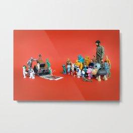 Toys on Roids Metal Print