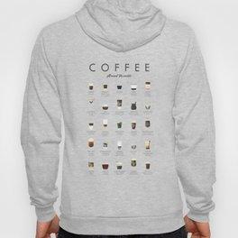 Coffee Chart - Around The World Hoody