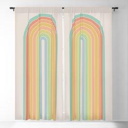 Gradient Arch - Rainbow I Blackout Curtain