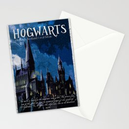 The best wizarding school Stationery Cards