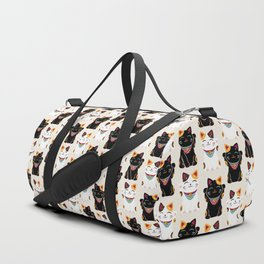 Maneki Neko - Lucky Cats Duffle Bag