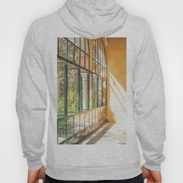 Seville VI [ Andalusia, Spain ] Sun on glass wall in Real Alcazar⎪Colorful travel photography Poster Hoody