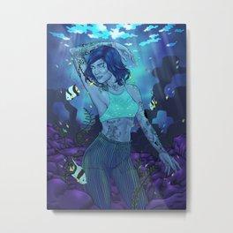 Submerge Metal Print