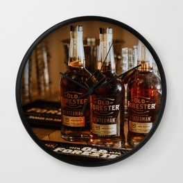 Old Forester - Statesman Bourbon Wall Clock