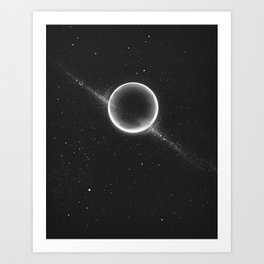 Planets lost in the vast of Space: 07 Art Print