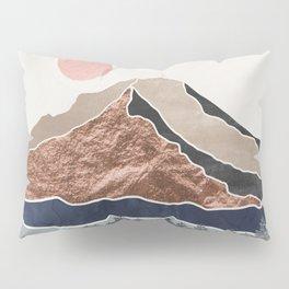 Mount Hood Oregon - Daylight Wilderness Pillow Sham