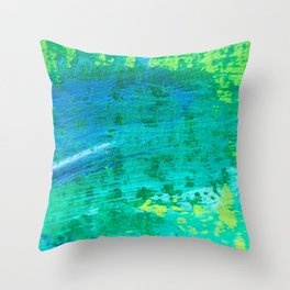 surrounded in spring : abstract Throw Pillow