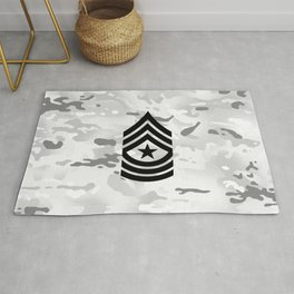 Sergeant Major (Winter Camo) Rug
