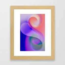 delicate colors -201- Framed Art Print