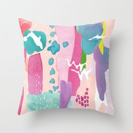 Abstractions II Throw Pillow