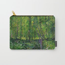 Vincent Van Gogh Trees and Undergrowth 1887 Carry-All Pouch