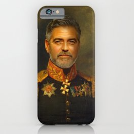 George Clooney - replaceface iPhone Case
