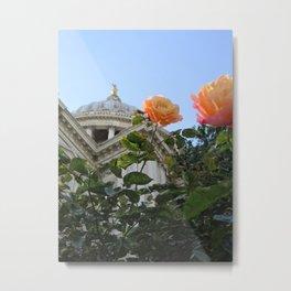 Rose at St. Paul's Metal Print