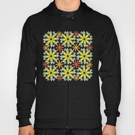 Vibrant floral pattern Hoody