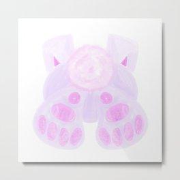 Bunny Butt Metal Print
