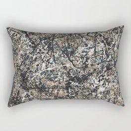 Jackson Pollock - One: No. 31, 1950 - Exhibition Poster Rectangular Pillow