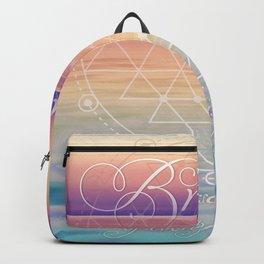 Breathe - Reminder Affirmation Mindful Quote Backpack