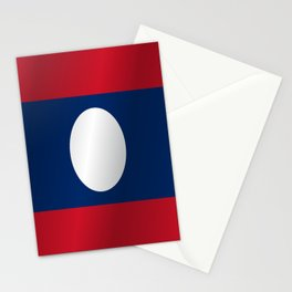 Flag of Laos Stationery Cards