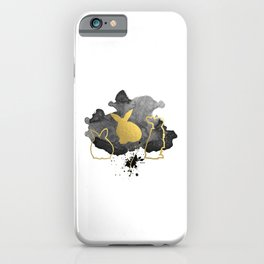 Bunnies Version 3 iPhone Case