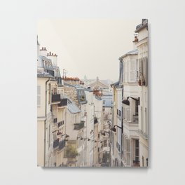 Montmartre Mon Amour - Paris Photography Metal Print