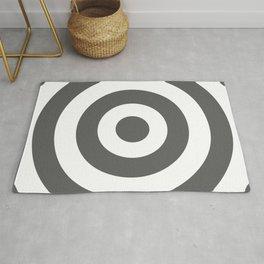 Target (Grey & White Pattern) Rug