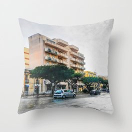 TRapani art 9 Throw Pillow